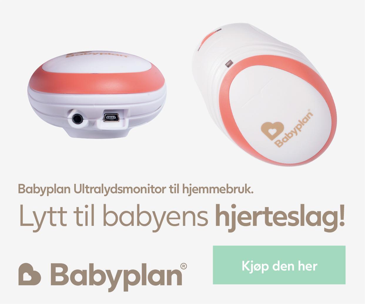 Kjøp Babyplan Ultralydsmonitor her