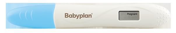 Positiv Babyplan Digital Graviditetstest